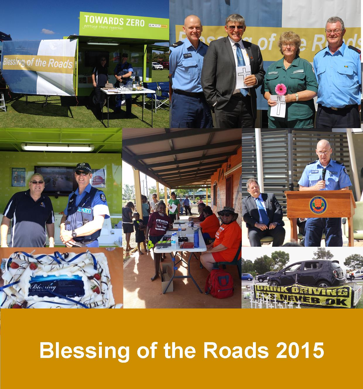 Blessing of the Roads 2015 photo collage