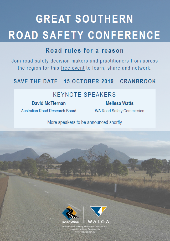 Img: Great Southern Road Safety Conference 2019
