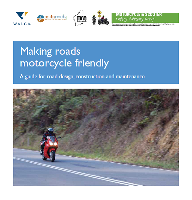 Making Roads Motorcycle friendly