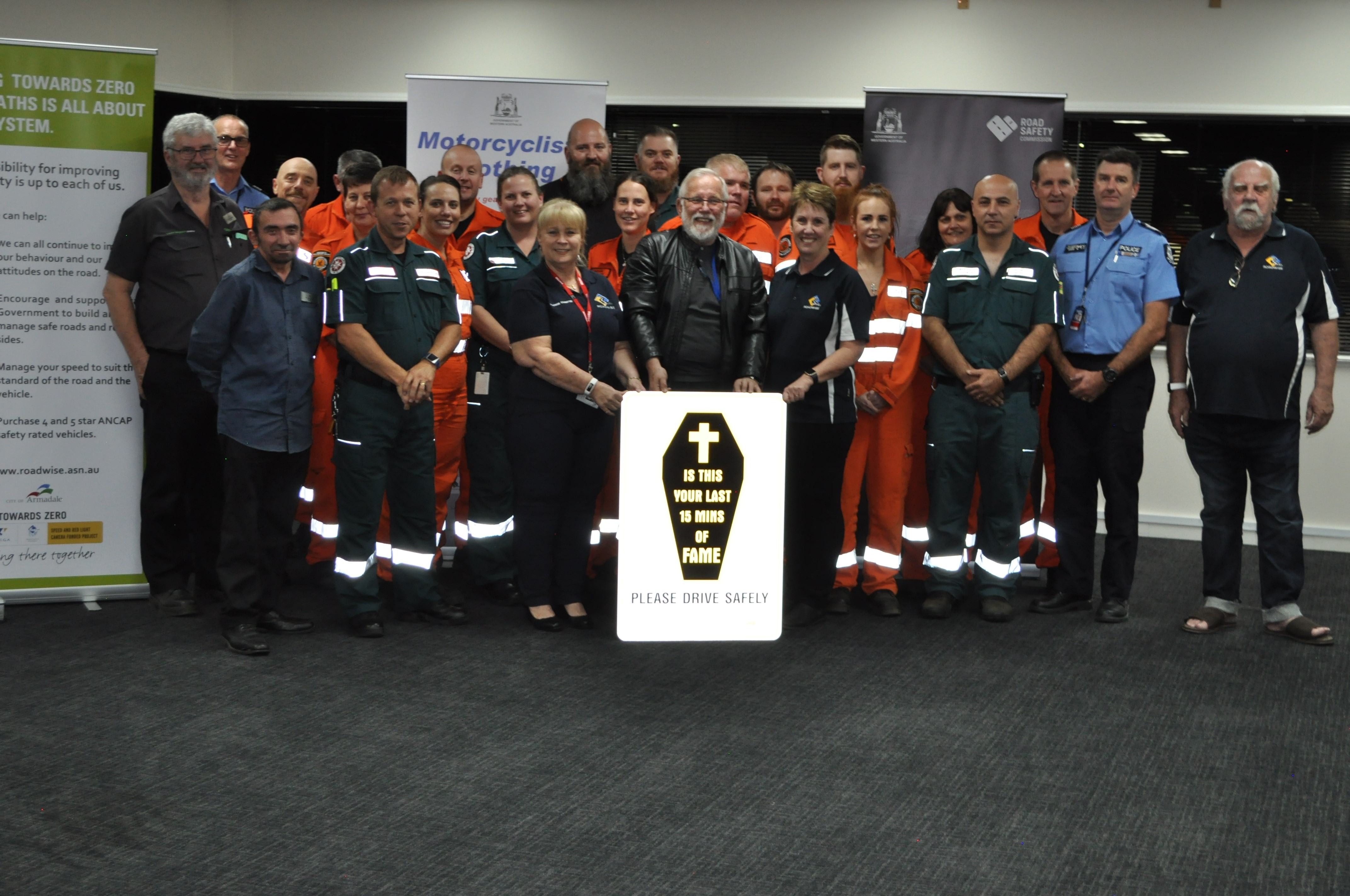 Photo_-_Armadale_RoadWise_Committee_-_first_responder_event_-_May_2019