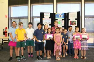 Gosnells Road Safety Calendar Art Winners 2016