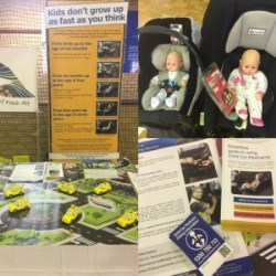 Img: Harvey Play Expo Display Targets Child Car Restraints