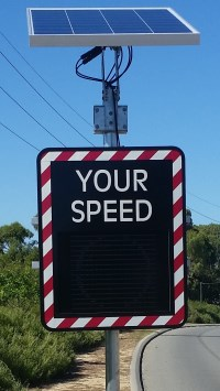 Img: Courtesy Speed Display Signs Available to Assist With Local Safe Speed and Speeding Initiatives