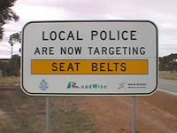 Targeted Enforcement Signs