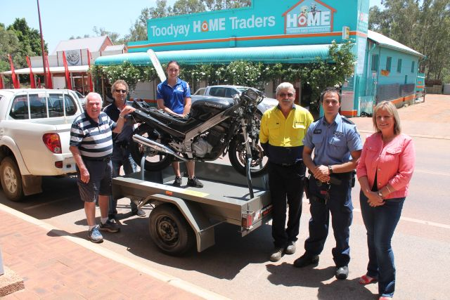 Toodyay Crash Bike Trailer 2015