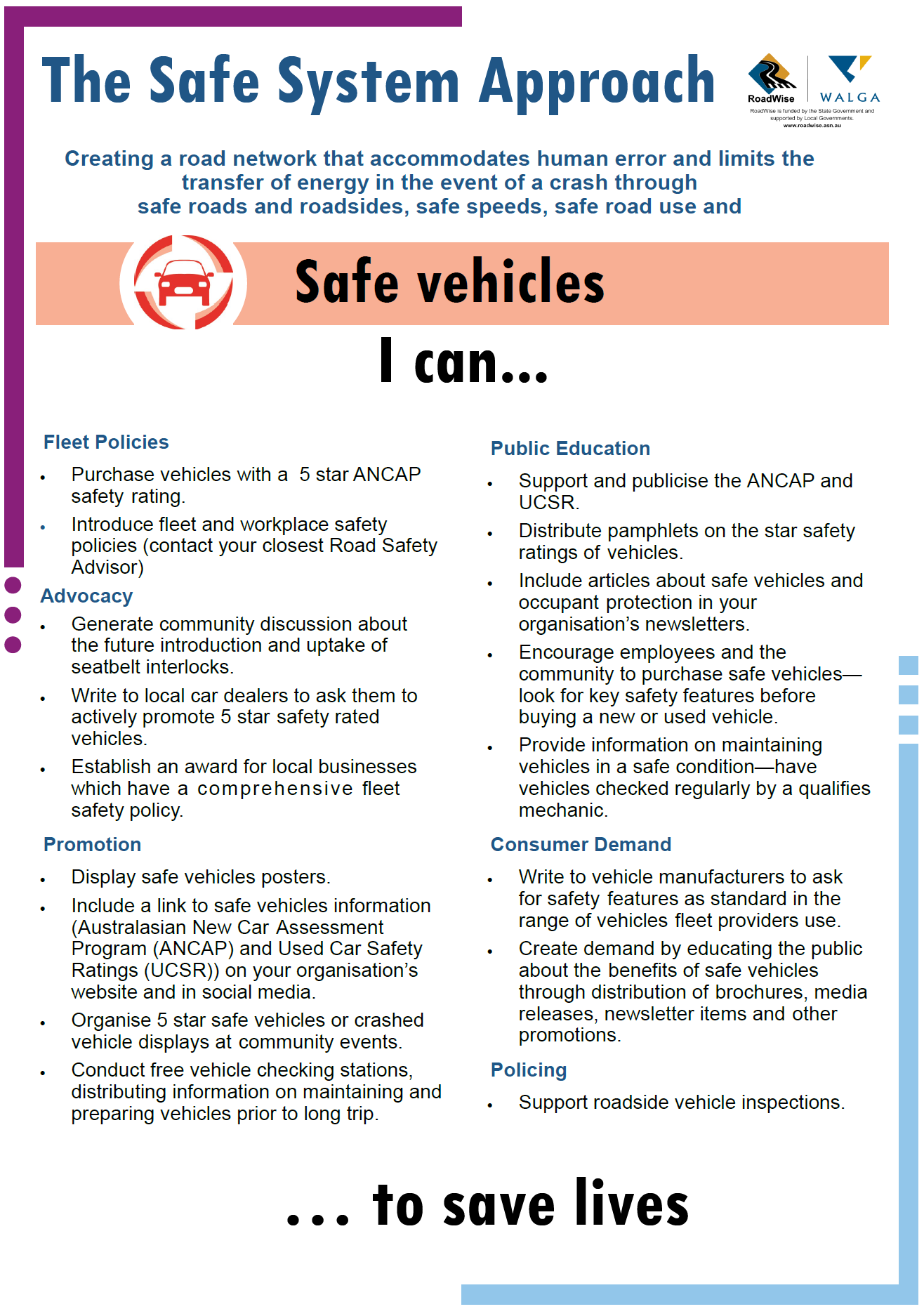 Poster_A3_Safe_System_Safe_Vehicles_I_can_March_2019