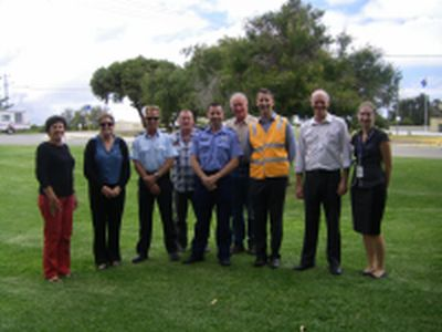 Jurien Bay RoadWise Committee and Cliff Simpson, Road Safety Advisor